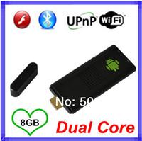 Bluetooth MK809 Android 4.2.2 Mini PC TV Stick Rockchip RK3066 Cortex A9 1.6GHz Dual core 1GB RAM 8GB ROM MK809III TV Box