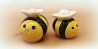40pcs=20box Honey bee Salt and Pepper Shakers TC019