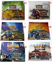 Latest Pokemon Cards -  Black and White Plusmublust - Playing Cards Trading Card Game 324pcs/set Free Shipping via Fedex!