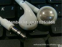 Free shipping 10pcs/lot 3.5mm earphone headphone headset for mp3 mp4 CD IPHONE  3G 4G 5G