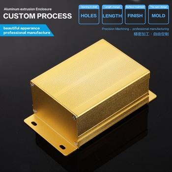 76*46*100mm Extruded Anodized Aluminum Profile/Fin Heat Sink/Heatsink for Digital power