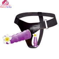 Baile Brand Dia:28mm L:170mm ABS+TPR strapon harness dildo double dong realistic anal dildo porn ssangyong goods for adults