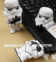 Free Shipping 30pcs/ lot 1GB-32GB Star War Stormtrooper USB Flash Stick