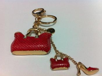 handbags high-heel keychain novelty items cute key ring for women souvenir christmas gift promotional keychian free shipping