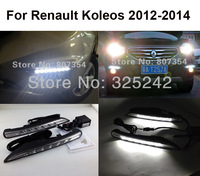 free shipping,Excellent CAR-Specific Renault Koleos 2012 LED DRL,LED Daytime Running Light, Ultra-bright LED illumination