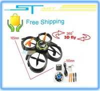 UDI Mini Quadcopter quad 2.4G 4CH  UFO RTF U816 Upgrade u816a RC helicopter  RC Aircraft  Free Shipping hot selling
