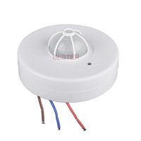 Max 12m Motion Sensor Switch,360 Degree PIR  Infrared Motion Sensor Light Switch(4pcs BS036B)