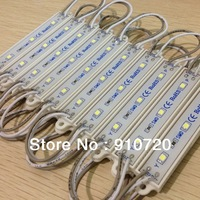 SMD 3528 3 LED Modules Yellow/Green/Red/Blue/White/Warm White Waterproof  IP65 DC12V LED Light 20pcs Free Ship
