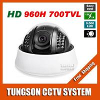 New 2015 Genuine 1/3 Sony 960H Effio 700TVL CCTV Camera Security OSD Menu Night Vision Infrared Indoor Dome Video Surveillance