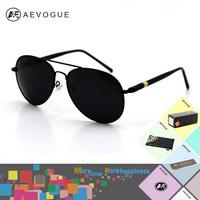 AEVOGUE with Original case hot selling Brand sunglasses men polarized Multicolor Polaroid aviator glasses sun glasses AE0029