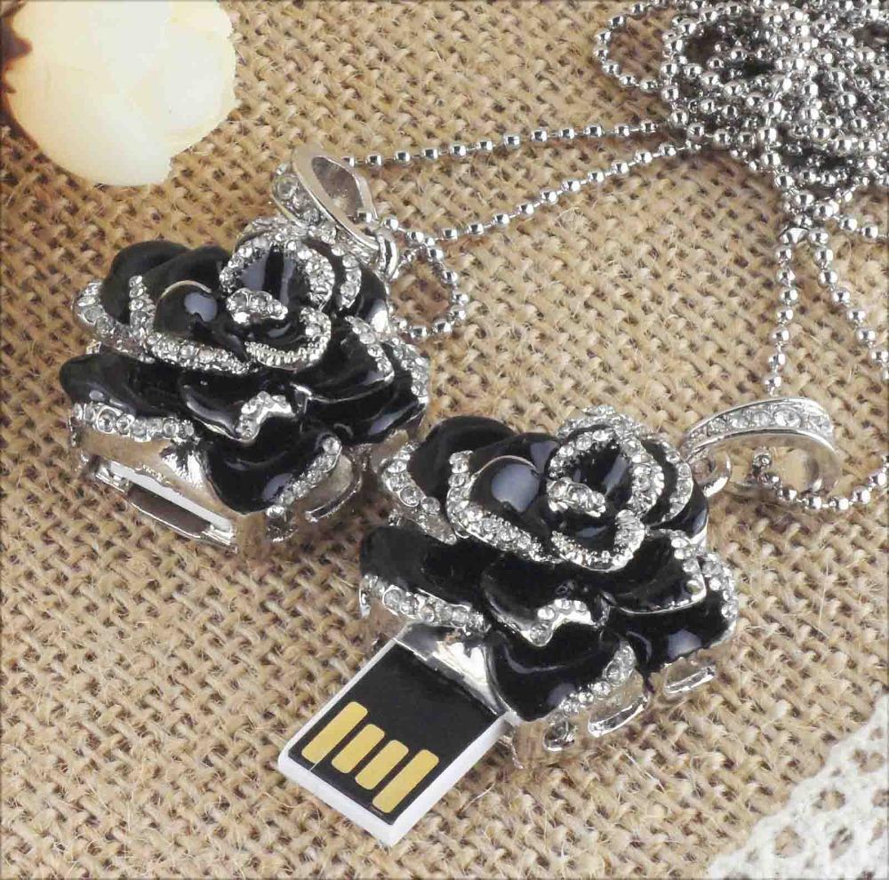 TRUE100% Flash Memory Best Selling Jewelry usb flash drives storage devices HOT Usb 2.0 2gb 4gb 8gb 16gb Usb Pendrive F-H025