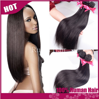 "RY hair: cheap indian hair straight 3 pcs lot free shipping 100% indian remy human hair extension 12""-30"" very soft hair weaves"