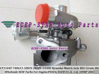 GT1544V 740611-5002S 28201-2A400 740611 782403 Turbocharger For HYUNDAI Matrix Getz KIA Cerato Rio 2005 D4FA D4FB U 1.5L 109HP