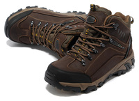 in stock! 2014 High Quality men hiking shoes for men climbing shoes men outdoor shoes genuine leather shoes, size:39-44 hot sale