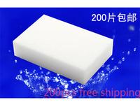 Free Shipping,Magic Sponge Eraser Melamine Cleaner,multi-functional sponge for Cleaning100x60x20mm 200pcs/lot L058