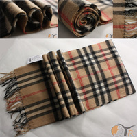 Free shipping  Hot style Unisex 100% cashmere wool blending SCARF,super soft and Warm Plaid,9 color for choices