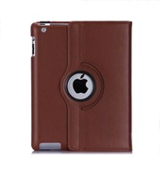 Case for IPAD 2 3 4 , 360 Degree Rotating PU leather Smart case Cover For iPad 2 3 4 9.7 inch Leather Case Free Shipping