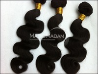 Grade  8A  Un-processed Brazilian virgin hair, top of the line grade a hair Mix length 3pcs/lot,Soft Body wave,DHL free shipping
