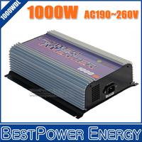 Free Shipping, AC110V/220V 1000W 1KW Grid Tie Inverter for DC22~60V Wind Generator Turbine, Built-in Dump Load Controller, MPPT