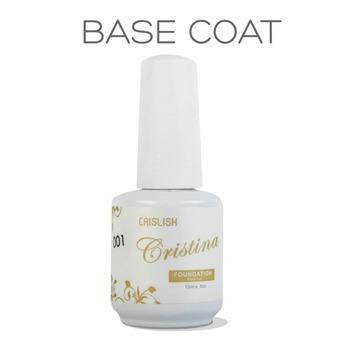 Cristina Nail Base Coat To Uv Gel Nail Polish Acrylic Professional Nail Design Supplies Base Coat Free Shipping