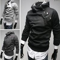 Man Sport Hoodies Polo Mens Winter Jacket Sportswear Baseball Polo Suit Sport Assassin'S Creed Jackets Men'S Sweatshirt Down