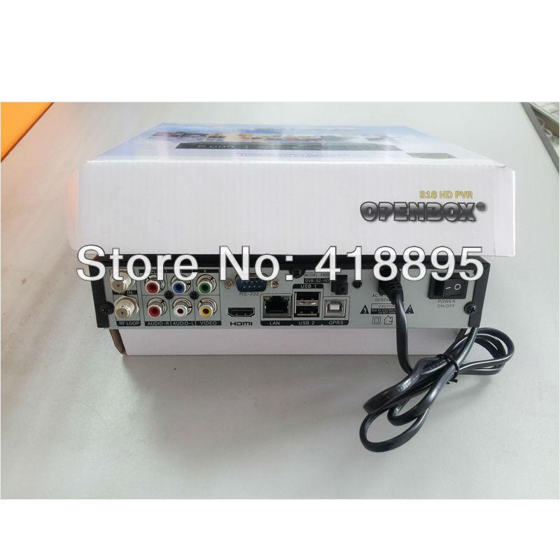 Original Openbox S16 HD Full 1080p Satellite Receiver w/ DVB-S/S2 ...