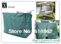 Free shipping Green cover 190 cm length with zipper patio swing chair cover-190