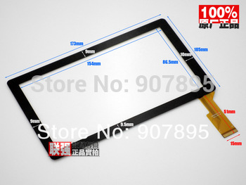 "Minimum $3 7inch 7"" capacitive panel touch screen digitizer glass for All Winner A13 Q8 Q88 Tablet PC MID BSR028-V3 KDX CZY6075A"
