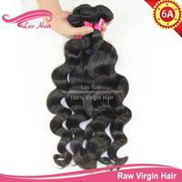 6a unprocessed brazilian virgin hair Brazilian Loose Wave Queens Hair human hair brazilian Luvin Hair Products