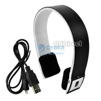 3Pcs/Lot Headset for iPhone/ iPad2/Laptop/PS3 Bluetooth 2ch Stereo Audio Headset with Microphone Free Shipping TK0015