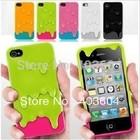 Frete Grátis Melt Sorvete pele dura tampa traseira para o iPhone 4 4s 1piece frete grátis (China (continente))