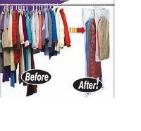FREE SHIPPING! 5 pcs | 90x60, 110x60, 105x70, 145x70 |  Vacuum bag with hanger | hanging vacuum storage bag | space saving bag