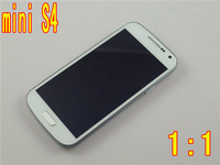 "HOT mini S4 1:1 phone i9190 i9500 MTK6572 Dual core Android 4.2 Air Call-Accept 4.3"" Screen ROM 4GB GPS 5MP Phone Free shipping"