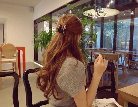 FREE SHIPPING  2014New  acrylic heart hair claw  hair caught  women hair accessories hair styling headwear