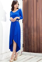 2013 Free shipping  long sleeve dress, Swallow dress  ,good material .free shipping
