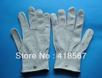 Hand Massager Anti-static,anti-skid. ESD conductive silver fiber gloves can be used with EMS/TENSmassager+free shipping
