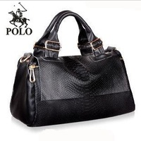 2013 new WEIDIPOLO brand women leather handbag fashion designer big black suede shoulder messenger bag freeship Promotion86240