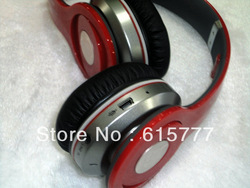 Stereo Headphones wireless free shipping Powered Noise Cancellation high quality with FM SD TF card bluetooth(China (Mainland))