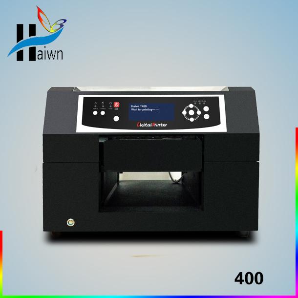Eco solvent printer phone case printing machine a4 flatbed printer haiwn-400(China (Mainland))