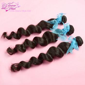 "3pcs/lot peruvian virgin hair loose wave natural color human hair extension unprocessed hair,12""-28"" ,Free shipping by DHL"