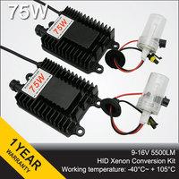 High Quality 75W AC HID Xenon Conversion kit HID KIT 75W AUTO CAR LAMP H1 H3 H4-1 H7 H8 H9 H11 9005 9006 880 881 D2H 9004 9007