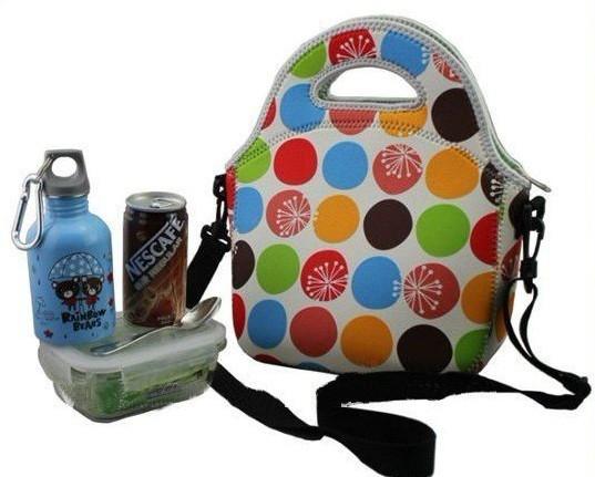 Neoprene Lunch Bag With Shoulder Strap 29