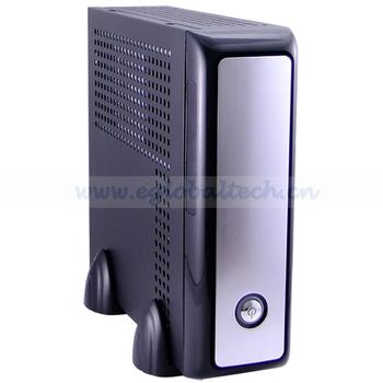 HTPC Mini ITX Case PC CPU AMD APU E350D 1.6GHz, 2G DDR3,160G HDD with DVI, HDMI, SPDIF Nettop PC Desktop Computers XBMC on Linux