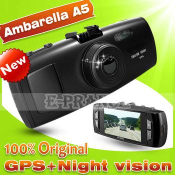 E-prance Ambarella A5S30 GS6000 Car Dvr Camera+  GPS Loggerand+  Super Night Vision+ Full HD 1080P 30FPS