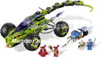 BELA Building Blocks Hot Toy Ninja Fangpyre Truck Ambush Construction Sets Assembling Blocks Gift