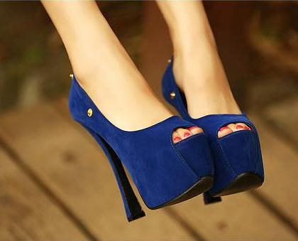 2013Two ways vintage ringtone female14cmheel open toe shoes fashion wedding bride summer women high platform strap Sandals(China (Mainland))