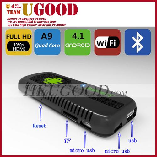 Купить ug007 / ug007b rk3188 четырехъядерных android мини-ПК tv box