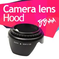 New 55mm Flower Lens Hood for Sony Alpha A390 A290 Nikon D3000 D5000