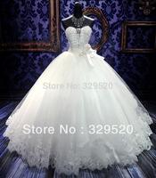 Free shipping Sexy Tube Top Royal Bandage Little Princess Actual Wedding Dress Plus Size Top Custom-made Gown Vestido De Novia