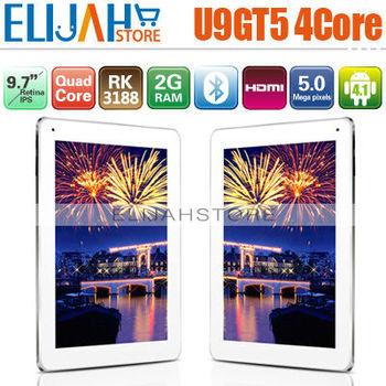 Cube U9GTV U9GT5 Rockchip RK3188 Quad Core tablet pc 9.7'' Retina IPS 2GB/16GB Dual Camera Bluetooth HDMI Android 4.1 In Stock